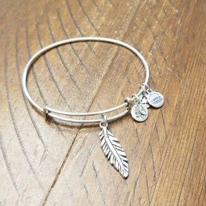 Alex and Ani bracelet- Feather
